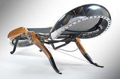 Aeronautical Design Aviator Chair by David Catta A True Masterpiece