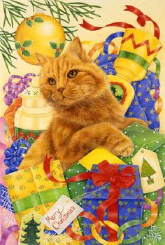 Gingers Christmas  Anne Mortimer