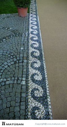 Portfolio - Pebble Mosaic                                                                                                                                                      More