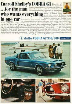 www.classiccarstodayonline.com wp-content uploads 2012 07 Ford-1968-Mustang-Shelby-Cobra-GT500-ad-a1.jpg
