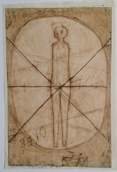 Currently at the Catawiki auctions: Anton Heyboer, 'Erlösung' - etch, 1960, signed