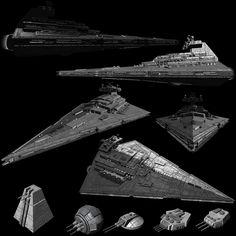 """Imperial """"Imperator"""" Star Destroyer I image Star Wars Ships, Star Wars Art, Nave Star Wars, Star Wars Spaceships, Star Wars Novels, Star Wars Design, Galactic Republic, Concept Ships, Violent Crime"""