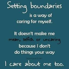 definition of personal boundaries    Give Them A Voice is an advocacy foundation. www.noworkingtitle.org
