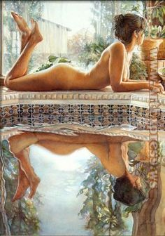Reflections by Steve Hanks. I own this one.