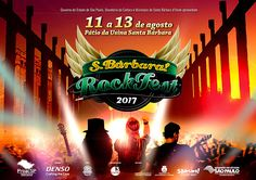 Programação definida. O S.Bárbara! Rock Fest 2017 está formado. Os nomes das 61 bandas foram revelados nesta quinta-feira