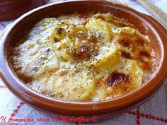 Il Pomodoro Rosso di MAntGra: Gratin di patate e Provolone
