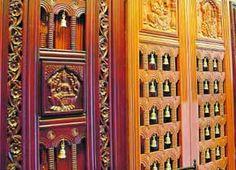 Puja Room Design. Home Mandir. Lamps. Doors. Vastu. Idols Placement. Part 66