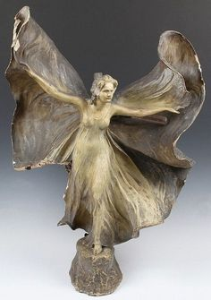 Buy online, view images and see past prices for An Art Nouveau Goldscheider terracotta figural. Invaluable is the world's largest marketplace for art, antiques, and collectibles. Goldscheider, Jugendstil Design, Academic Art, Art Nouveau Design, Name Art, Arts And Crafts Movement, Art And Architecture, Oeuvre D'art, Terracotta