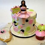 Cookies, Cupcakes & Pregnant Mommy! » Custom Baby Shower Cakes