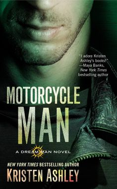 "NEW COVER ""Motorcycle Man"" by Kristen Ashley"