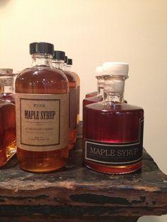 Maple Syrup Labels & Bottles . Kondysar Farms