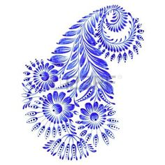 Image result for blue petrykivka