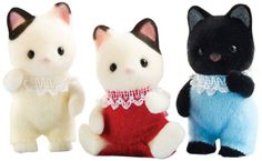 Calico Critters Tuxedo Cat Triplets Calico Critters http://smile.amazon.com/dp/B005P04FVK/ref=cm_sw_r_pi_dp_GTzwub1EY5TKQ