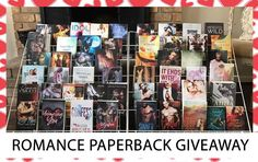 Enter to win 50 Romance paperbacks!           Sponsored by a fabulous group of authors, and by entering you are agreeing to be subscribed t...