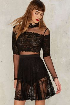 Lace for the strictly wicked.