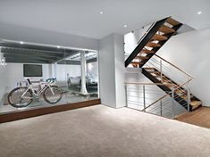 like the proper steps to guide you to your destination, these basement stairs ideas can agree to on a entire sum additional identity, at last presenting itself as a reimagined canvas awaiting your inspiration. Garage Stairs, Basement Staircase, House Stairs, Basement Steps, Basement Laundry, Modern Staircase, Garage Design, House Design, Loft Design