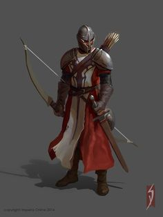 medieval battle units, Siana Dimitrova on ArtStation at… Dark Fantasy, Fantasy Male, Fantasy Armor, Medieval Fantasy, Medieval Archer, Fantasy Portraits, Character Portraits, Character Art, Dnd Characters