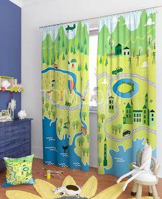 """Комплект штор """"Ямс"""": купить комплект штор в интернет-магазине ТОМДОМ #томдом #curtains #шторы #interior #дизайнинтерьера"""