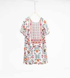 Image 1 of Floral dress from Zara
