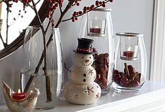 Clearly Creative Votive Trio - Holiday idea.