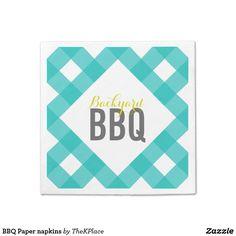 BBQ Paper napkins