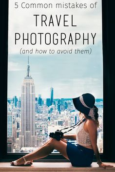 Improve your travel photography in 5 easy steps! This has some great inspiration for improving your travel photos for making great memories!