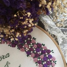 Günaydınlar  Mutlu sabahlar  #embroidery #hoopart #brezilyanakışı #nisantepsisi #nişan #dügün #nişanhatirasi #ceyiz #ceyizönerisi #mor #purple #morsevenlerkulubu #etamin #kanaviçe