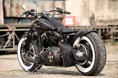 #Harley-Davidson Softail Cross Bones by #Thunderbike