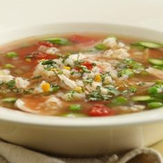 Spring Chicken & Barley Soup - EatingWell.com