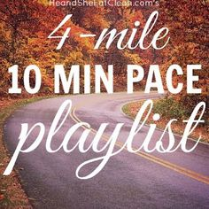Run a mile? Need a playlist? This playlist is optimized for runners who run a mile, looking to run 4 miles. It includes a warm-up and cooldown song as well! Perfect for race training. Get the entire playlist at Running Workouts, Running Tips, Fun Workouts, Pace Running, Running Playlists, Monthly Workouts, Trail Running, Running Style, Running Club