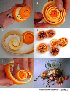 Orange Peel Roses - I bet these make a house smell awesome.
