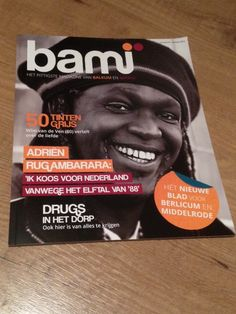 The first edition of BaMi Magazine. Check out bami-magazine.nl for more information or to read the latest edition of the magazine.