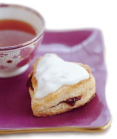 Find the recipe for Glazed Raspberry Heart Scones and other raspberry recipes at Epicurious.com