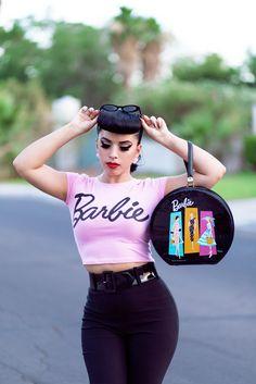 Retro Barbie Inspired