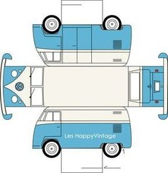 Printable VW Bus