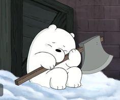 we bare bears Cute Disney Wallpaper, Cute Cartoon Wallpapers, Wallpaper Iphone Cute, Cartoon Pics, Ice Bear We Bare Bears, We Bear, We Bare Bears Wallpapers, Bear Wallpaper, Cute Memes