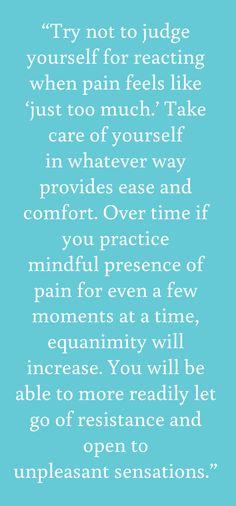 - from Tara Brach's first book, Radical Acceptance