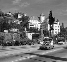 Hotel California, Southern California, Vintage Hollywood, West Hollywood, Los Angeles Hollywood, Chateau Marmont, Sunset Strip, Horror, Photographic Prints