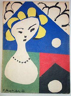 henri matisse cutouts - Google Search. #art #artists #matisse