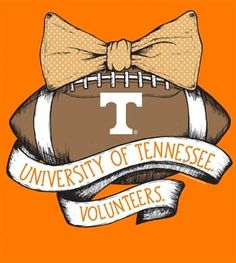 Southern Couture Tennessee Volunteers Vols Vintage Football T-Shirt Available in…