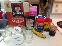 Overnight Refrigerator Oatmeal!