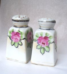 Vintage China Salt Pepper Shakers on Etsy, $10.00