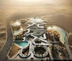 Mecanoo Noble Quran Oasis Al Madinah Saudi Arabia