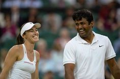 Martina Hingis does the doubles double, teaming with Leander Paes to beat Peya/Babos 6-1, 6-1 in 40 mins #Wimbledon2015