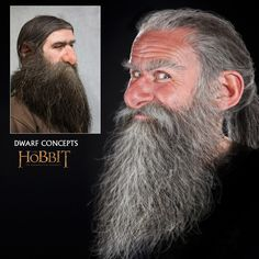 The Hobbit An Unexpected Journey concept artwork by Daniel Falconer