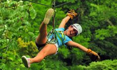 How about a canopy tour in the tropical rainforests of Costa Rica ?!?
