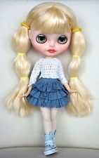 Custom Neo factory Blythe doll with Pure Neemo Body, ooak, CCE, blonde long hair