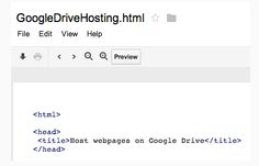 Great news for web developers by Search engine giant. Google, yesterday declared that web developers would now be able to share their hosted websites through Google Drive.