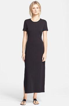 Theory 'Cherryal' T-Shirt Maxi Dress available at #Nordstrom