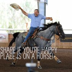 Happy on a horse, not happy in school... The caption should read YOUR.